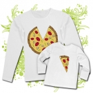 Camiseta MAMA PIZZA+ Camiseta PIZZA WL