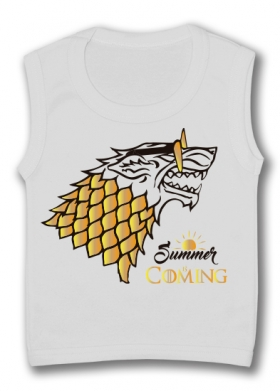 Camiseta sin mangas SUMMER IS COMING TW