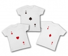 Camisetas trillizos POKER WC