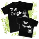 Camiseta PAPA THE ORIGINAL + Camiseta THE REMIX BC