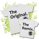 Camiseta PAPA THE ORIGINAL + Camiseta THE REMIX WC