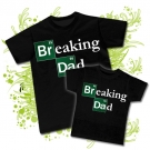 Camiseta PAPA BREAKING DAD BC + Camiseta BREAKING DAD BC