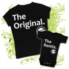 Camiseta MAMA THE ORIGINAL + Body THE REMIX BC