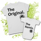Camiseta MAMA THE ORIGINAL + Body THE REMIX WC