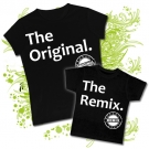 Camiseta MAMA THE ORIGINAL + Camiseta THE REMIX BC