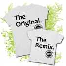 Camiseta MAMA THE ORIGINAL. + Camiseta THE REMIX WC