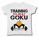 Camiseta TRAINING TO BE A GOKU WC