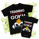 Camiseta PAPA TRAINING TO BE A GOKU + Body TRAINING TO BE A GOKU BC