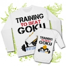 Camiseta PAPA TRAINING TO BE A GOKU + Body TRAINING TO BE A GOKU WL