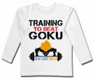 Camiseta TRAINING TO BEAT GOKU WL