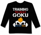 Camiseta TRAINING TO BEAT GOKU BL