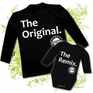 Camiseta PAPA THE ORIGINAL + Body THE REMIX BL
