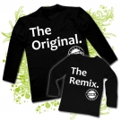 Camiseta PAPA THE ORIGINAL + Camiseta THE REMIX BL