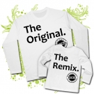 Camiseta PAPA THE ORIGINAL + Camiseta THE REMIX WL
