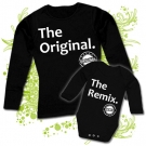 Camiseta MAMA THE ORIGINAL + Body THE REMIX BL