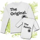 Camiseta MAMA THE ORIGINAL + Body THE REMIX WL