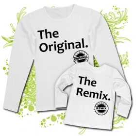 Camiseta MAMA THE ORIGINAL + CamisetaTHE REMIX WL