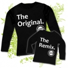 Camiseta MAMA THE ORIGINAL + Camiseta THE REMIX BL