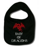 Babero BABY OF DRAGONS B