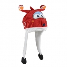 Gorro peluche 3D SUPER WINGS JETT