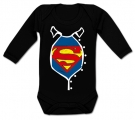 Body bebé SUPERMAN ACTION BL