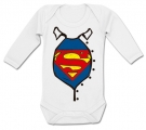 Body bebé SUPERMAN ACTION WL