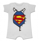 Pijama manga corta SUPERMAN ACTION WC