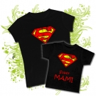 Camiseta MAMA SUPERMAN + Camiseta SUPER MAMI BC