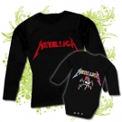 Camiseta MAMA METALLICA LOGO + Body METALLICA COLORS BL
