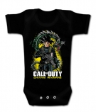 Body bebé CALL OF DUTY & VEGETA BC