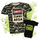 Camiseta PAPA ZOMBIE AREA + Body FUTURE ZOMBIE MC