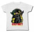 Camiseta CALL OF DUTY & VEGETA WC