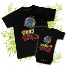 CAMISETA PAPA DRAGON BALL+ BODY DRAGON BALL BC