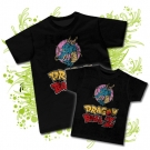 Camiseta PAPA DRAGON BALL + Camiseta DRAGON BALL BC