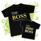 Camiseta THE BOSS + Camiseta THE MINI BOSS BC