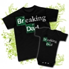 Camiseta PAPA BREAKING DAD BC + Body BREAKING DAD BC