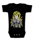 Body bebé VEGETA TATTOO BC