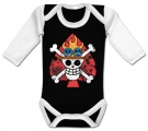 Body bebé ONE PIECE FLAMES BBL