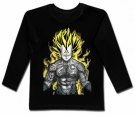 Camiseta VEGETA TATTOO BL