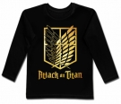 Camiseta ATTACK ON TITAN BL