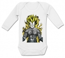 Body bebé VEGETA TATTOO WL