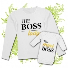 Camisera MAMA LADY THE BOSS + Body THE MINI BOSS WL