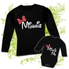 Camiseta MAMA MINNIE + Body MINNIE ME BL