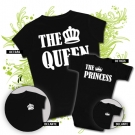 Camiseta MAMA THE QUEEN + Body THE PRINCESS BC