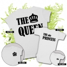 Camiseta MAMA THE QUEEN + Body THE PRINCESS WC