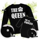 Camiseta MAMA THE QUEEN + Body THE PRINCESS BL