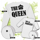 Camiseta MAMA THE QUEEN + Body THE PRINCESS WL
