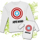 Camiseta SUPER MAMA + Body SUPER HIJA WL