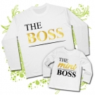 Camiseta PAPA THE BOSS + Camiseta THE MINI BOSS WL