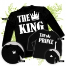 Camiseta THE KING + Camiseta THE PRINCE BL
